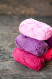 Different types of yarn Royalty Free Stock Images