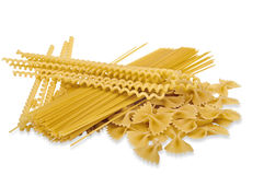 Different Variations of Pasta Stock Images