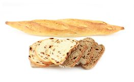 Different varieties of french bread Royalty Free Stock Images