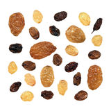 Different varieties of raisins Stock Photo