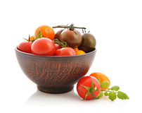 Different varieties of tomato Royalty Free Stock Photography