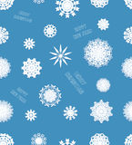Different vector snowflakes Stock Image