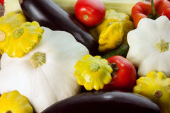 Different vegetables as a background Royalty Free Stock Image