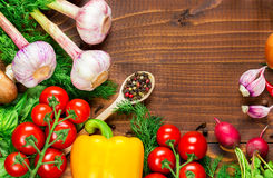 Different vegetables Royalty Free Stock Images