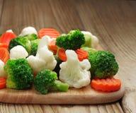 Different vegetables frozen Stock Images
