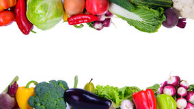 Different vegetarian vegetables Royalty Free Stock Images