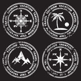 Different versions of the mark. Royalty Free Stock Photo