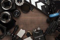 Different video equipment Stock Photo