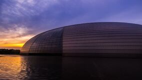 Different view of the National Grand TheaterBeijing National Center for the Performing Arts in Beijing,China