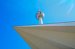 Different view of the TV Tower Stock Image