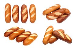 Different views of baked bread Stock Photography