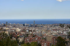 Different views of Barcelona, Spain Royalty Free Stock Images