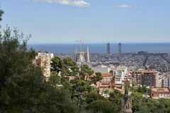 Different views of Barcelona, Spain Stock Photos