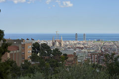 Different views of Barcelona, Spain Stock Image