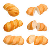 Different views of breads Stock Photo
