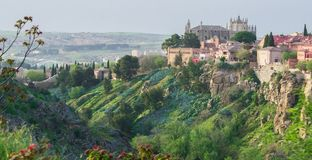 Different views of toledo royalty free stock photography
