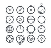 Different Web icons set Royalty Free Stock Images