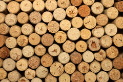 Different wine corks texture Royalty Free Stock Photography