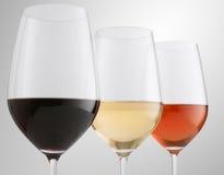 Different wines Stock Photos