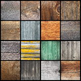 Different wood textures for your design Royalty Free Stock Photos