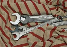 Different wrenches Royalty Free Stock Photos