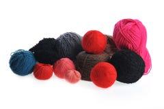 Different yarn balls Royalty Free Stock Image