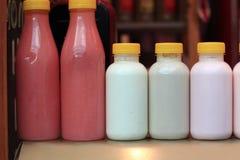 Different yogurt Royalty Free Stock Image
