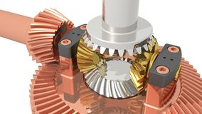 Differential gear Stock Photos