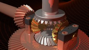 Differential gear Stock Images