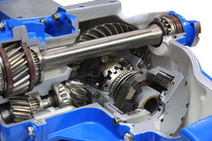 The differential gear Stock Images