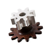 Differential gears Stock Photo