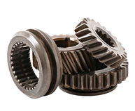 Differential gears Stock Photos