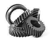 Differential gears Stock Image