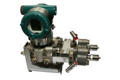 Differential pressure sensor. Royalty Free Stock Photo