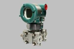 Differential pressure sensor. Stock Photo