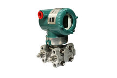 Differential pressure sensor. Stock Images