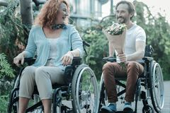 Differently abled people enjoying their lives Royalty Free Stock Photography