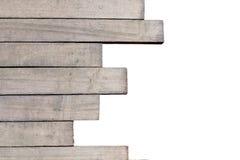 Differentsize de plan rapproché en bois de lattes de lattes en bois, peut être employé Photo libre de droits