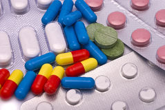 Differnt Drugs. Different Drugs: Pills, Tablets and other Royalty Free Stock Photo