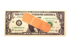 Difficoltà dei soldi Immagini Stock