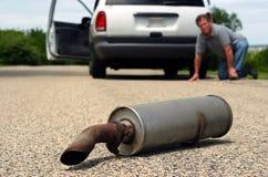 Difficoltà dell'automobile Fotografie Stock