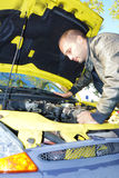 Difficoltà dell'automobile Immagine Stock Libera da Diritti