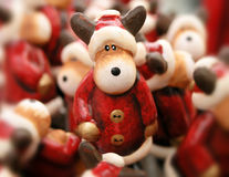 Difficoltà della renna Fotografie Stock Libere da Diritti