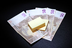 Difficoltà nella gestione dei soldi Fotografia Stock