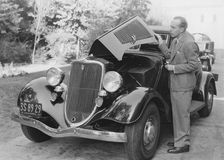 Difficoltà dell'automobile Immagini Stock Libere da Diritti