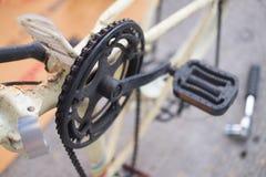 Difficulté de bicyclette images stock