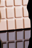 Difficulté de chocolat Image stock