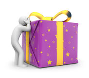 Difficult choice of gifts Royalty Free Stock Photo
