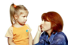 Free Difficult Conversation Stock Image - 7020861
