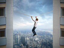 Difficulties in business Royalty Free Stock Photo